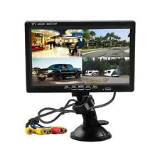 Hikity Quad Split Monitor 7 Inch HD Screen TFT LCD Video Displays for Home CC...