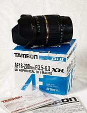 Tamron LD A014S 18-200mm f/3.5-6.3 Di-II AF IF Lens For Minolta/Sony