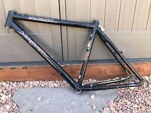 "Vintage specialized stumpjumper mountain bike M2 FS 18""  frame black USA"
