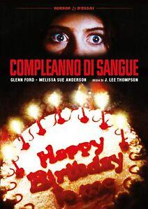 Dvd Compleanno Di Sangue (Restaurato In Hd) (1981) .....NUOVO