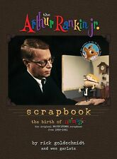THE ARTHUR RANKIN, JR. SCRAPBOOK hardcover book by Rick Goldschmidt! signed art