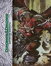 Dungeons & Dragons Monster Manual D & D Hardcover HC Book Deluxe Edition