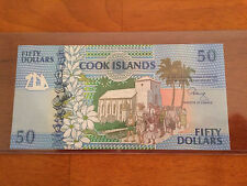 Cook Islands 50 Dollars 1992 P-10 AAA-Prefix > UNC