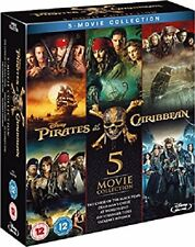 Pirates of the Caribbean - 5-Movie Collection (Blu-ray) BRAND NEW!!