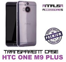 COVER TRASPARENTE HTC ONE M9 PLUS CUSTODIA PROTEZIONE TPU TRANSPARENT SLIM CASE