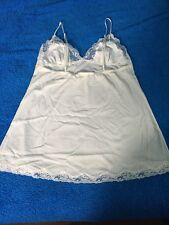 Victoria's Secret Lacy White Lingerie Sleep Wear Size M