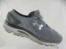UNDER ARMOUR Speedform Gemini Grey Sz 14 Men Running Shoes