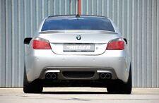 Rieger Heckeinsatz Carbon-Look Doppelend. li/ re für BMW 5er E60/ E61 M-Technik