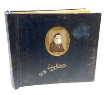 """12x ENRICO CARUSO im original """"CARUSO"""" Album -RAR-  78rpm Schellackplatte A361"""