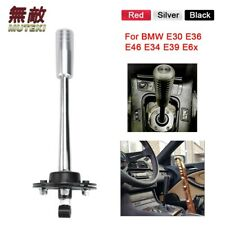 Short Shifter With Black Knob For BMW E30 E36 E39 Z3 Drift Tuning