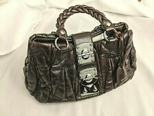Authentic New MIU MIU Coffer Matelasse Brown Bag Handbag