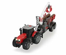 Dickie Toys 4006333005268 Trattore Massey Ferguson 1 36 con Rimorchio 42 cm