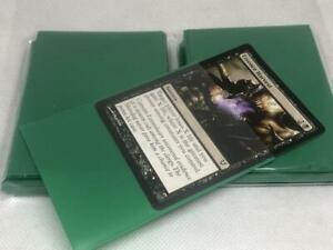 Lenayuyu 100pcs Freshgreen Protector Standard MTG Card Sleeves 66x91mm Matte