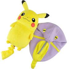 New Pokemon Pikachu Robe Cosplay Brinquedos Purple Eyes Open Plush Toys