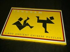 Tangram 1600 Ancient Chinese Puzzles by Michael Schuyt and Joost Elffers