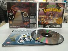 ATTACK OF THE SAUCERMAN PSX RETROGAME PAL ITA