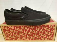 NEW IN THE BOX VANS CLASSIC SLIP-ON BLACK/BLACK VN000EYEBKA SHOES FOR MEN