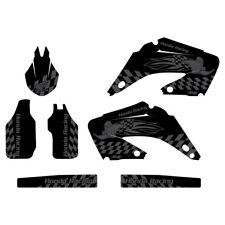 Honda CR125 CR250 2002-2012 Woody graphics kit black highlight FREE SHIPPING!!!