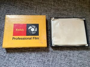 NOS - Kodak Ester type SS-343 thick base safety professional film 25 sheets 4 x5