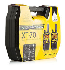 Midland XT70 Adventurer NEW licence free twinband 2-way radios outdoor pack