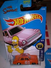 Hot Wheels The Simpsons family car GENERAL LEE DUKES OF hazard 2