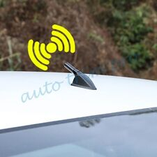 Black Mast Stubby Auto  Screw Type Antenna Radio Amplifier Aerial AM FM Parts