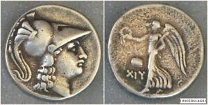 Beau tétradrachme en argent IIIéme-IIème s. av JC PAMPHYLIE