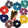 Vintage Velvet Scrunchie  Elastic Hair Ties  Hair Rubber Bands Hair Scrunchie