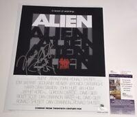 RIDLEY SCOTT Signed ALIEN 11x14 Photo IN PERSON Autograph JSA COA
