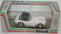 BOX MODEL 1/43 8412 - AC SHELBY COBRA - WHITE