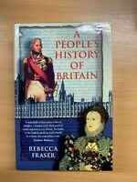 "2003 ""A PEOPLE'S HISTORY OF BRITAIN"" HISTORY ILLUSTRATED HARDBACK BOOK"