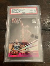 1993 Topps Stadium Club Michael Jordan Beam Team #4 PSA 8 NM - MT