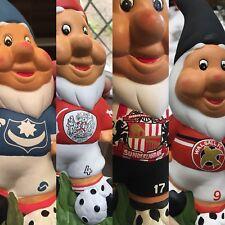 Personalised Bespoke Handpainted Football Garden Gnome