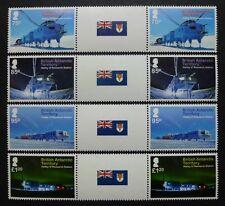 BRIT ANTARKTIS BAT ANTARCTIC 2013 Halley IV Forschungsstation Stegpaare ** MNH