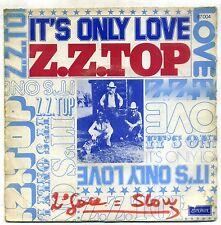 Z.Z. TOP : IT'S ONLY LOVE 45 T SIMPLE LONDON 87004 ( 1976 )