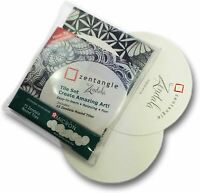 Sakura Pigma Micron Zentangle Zendala - Round Tiles Set - Pack of 15
