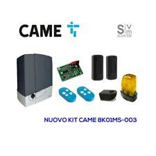 Automazione completa Came Scorrevole 8K01MS-003 24V 400 KG + 2 telecomandi