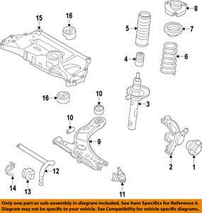 VW VOLKSWAGEN OEM 05-17 Jetta Front-Lower Ball Joint 1K0407366C