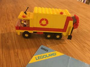 Lego City Town Set 6693 Recycle Truck (1987).