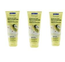 (3  Pack) FREEMAN FACIAL MASK SPARKLING PEAR PORE CLEANSING 5oz