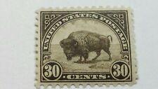 Us Scott 569-1923 30 Cent Buffalo-Olive Brown-Mint/Never Hinged/Og-Cat Val $96.