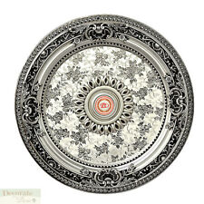 CEILING MEDALLION Petite Silver Pattern Round 24