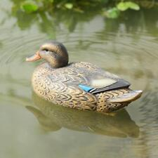 DECOY MUMMY DUCK FLOATING MALLARD PLASTIC ORNAMENTAL FISH POND DECORATION