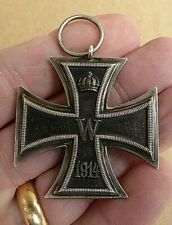 WW1 1914-1919 GERMAN ARMY IRON CROSS MEDAL 2ND CLASS NICE ORIGINAL MEDAL