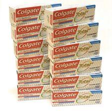 Colgate Total Toothpaste .88oz Travel Size/TSA (12 Boxed Tubes) FREE US SHIPPING