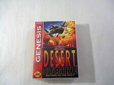 Desert Strike  Custom  SEGA GENESIS CASE (***NO GAME***)