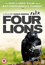 4 Four Lions DVD Riz Ahmed Adeel Akhtar Chris Morris New Sealed UK Release R2