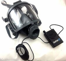 Scott/SEA Domestic Preparedness FP Gas Mask with SmallTalk ST2-F Voice Amplifier
