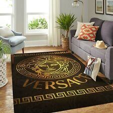 Luxury brand area rugs living room, Fashion brand carpet, High-end rug