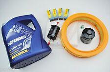 Inspektionspaket Inspektionskit VW Polo 6N 1,0l 37KW 50PS AER ALL inkl 5L 10W40